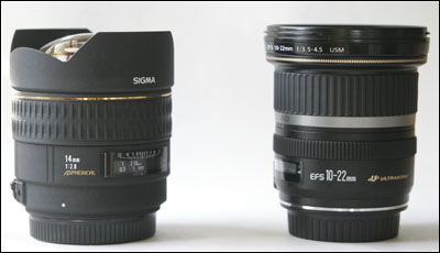 Sigma 14mm comparison