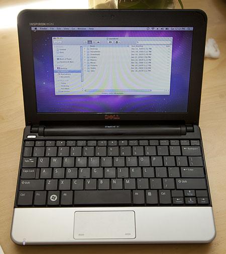 Hacked Dell Mini 10v